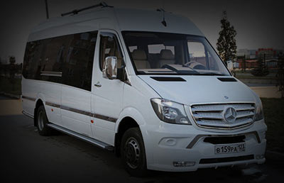 Аренда мерседес в Сочи и Адлере Mercedes Sprinter Luxe