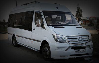 Аренда мерседес в Сочи и Адлере Mercedes Sprinter Luxe