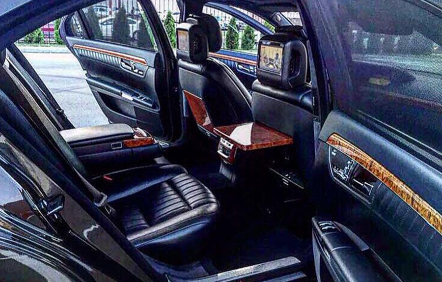 Аренда автомобиля Мерседес S класс W221 ( Meredes S class W221) с водителем в Сочи, Адлере и Красной поляне