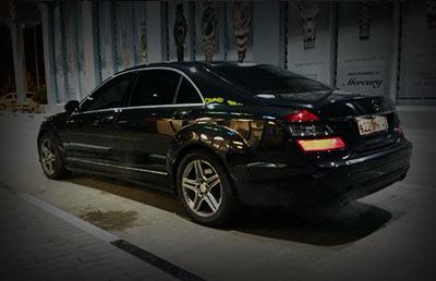 Аренда мерседес в Сочи и Адлере Mercedes s class w221