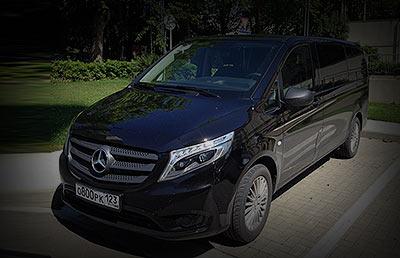 Аренда мерседес в Сочи и Адлере Mercedes vito
